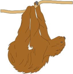 Sloth PNG - 6275
