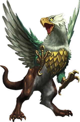 Griffin PNG - 4540