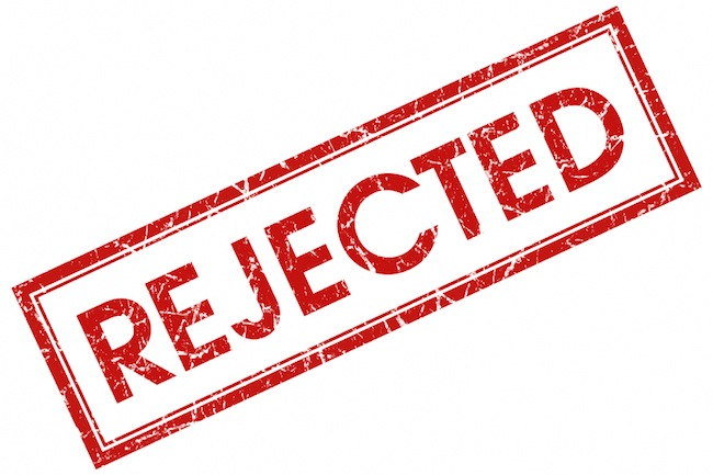 Rejected Stamp PNG - 3892