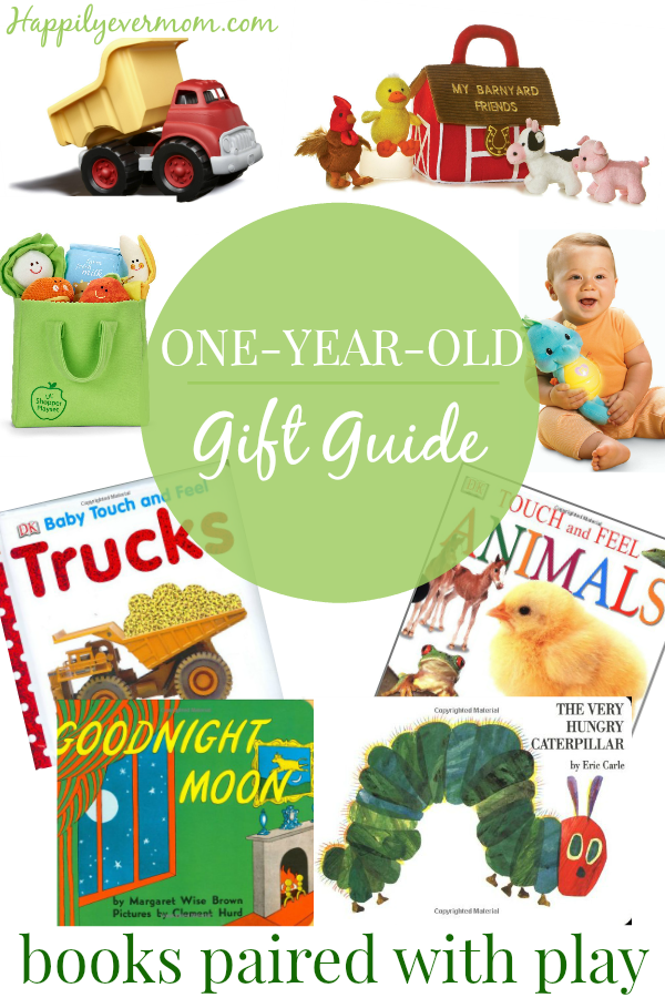 Pair books with toys for the best one year old gift this year - perfect for - 1 Year Old Boy PNG