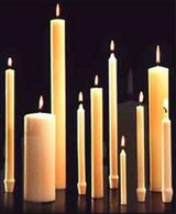 12.5u0027u0027 x 1.5u0027u0027 Plain End Large Diameter Calvary Stearic PlusPng.com  - Church Candles PNG