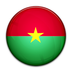128x128 px, Flag Of Burkina Faso Icon 256x256 png - Burkina Faso PNG