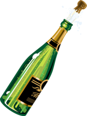 180px-Champagne png Champagne Png - Champagne PNG