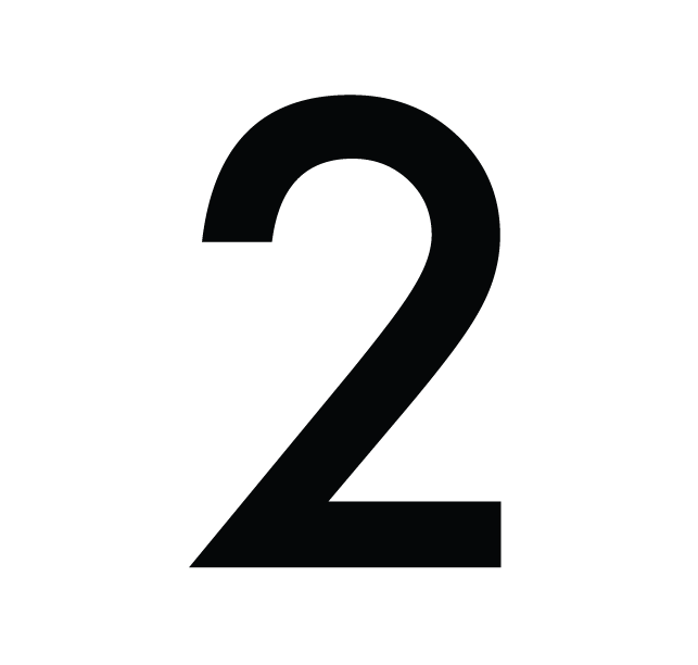 2 · Number 3 PNG