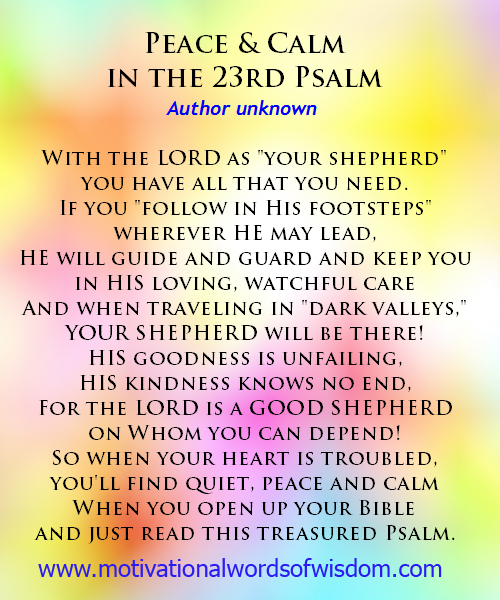 23rd Psalm PNG - 79943