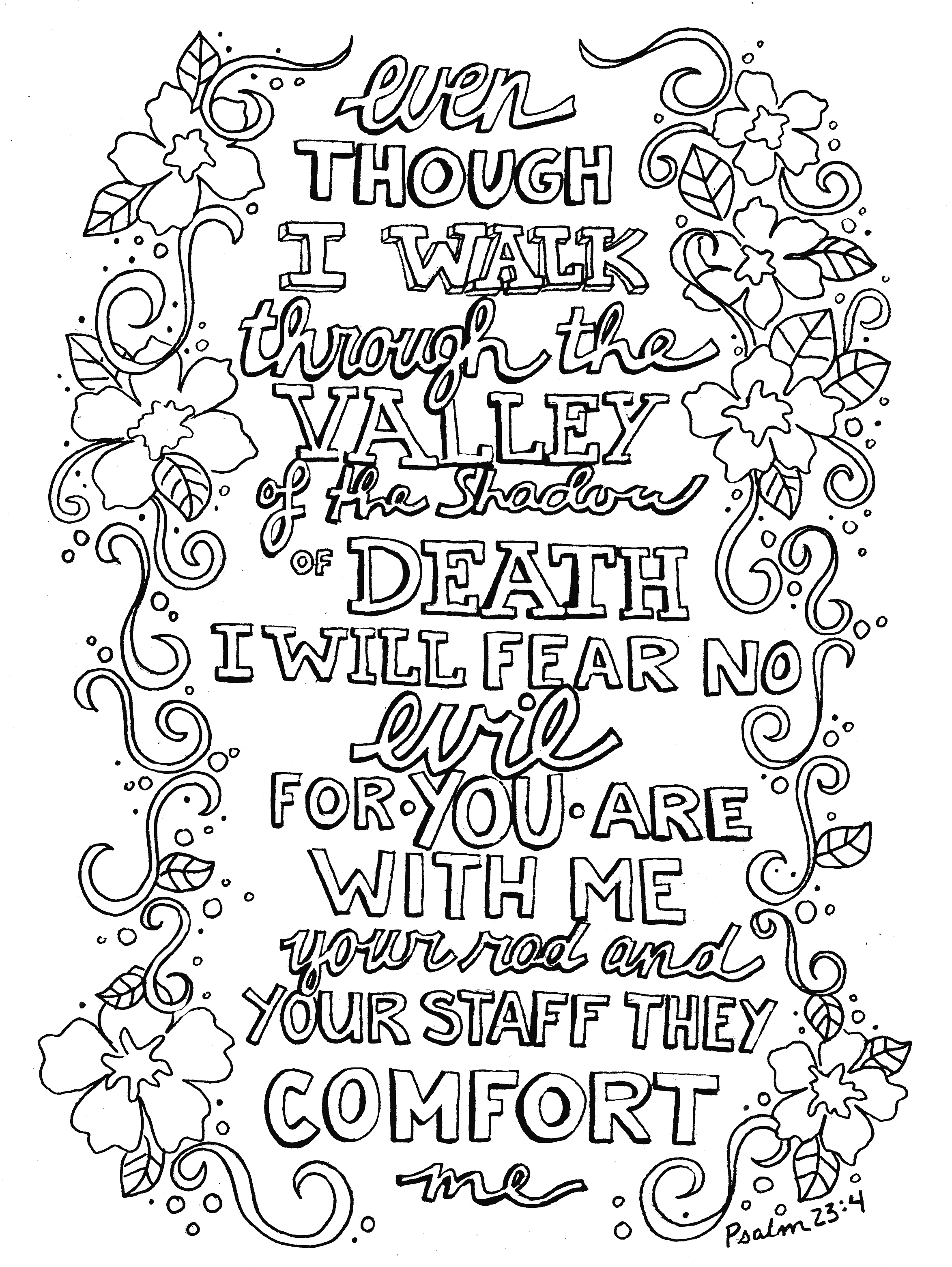 23rd Psalm PNG - 79936