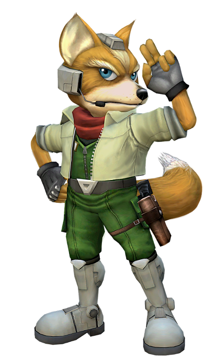25 - Melee Fox.png - Star Fox PNG