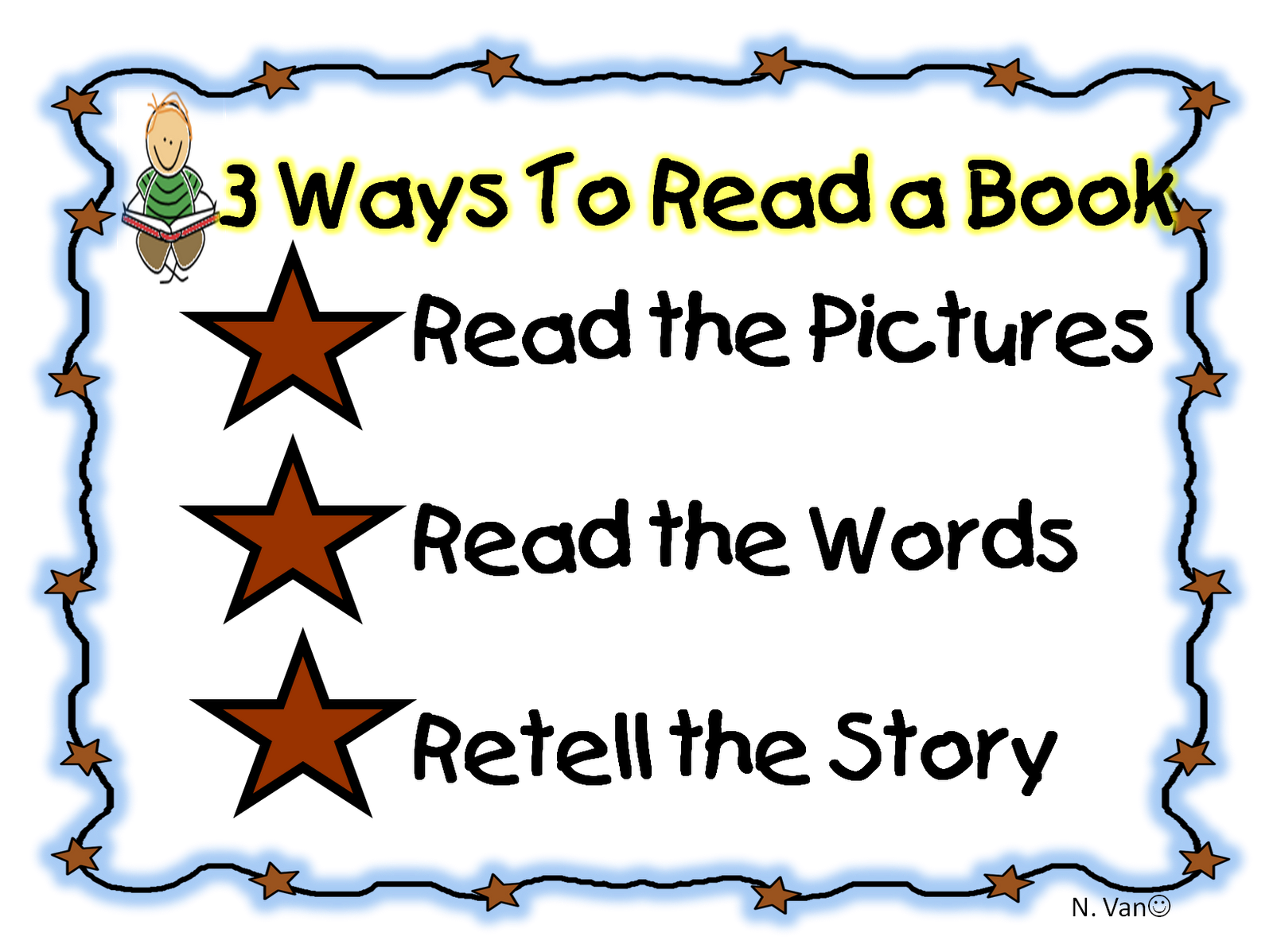 Click here for your printables - 3 Ways To Read A Book PNG
