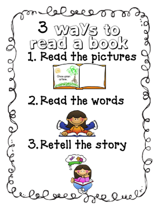 Mrs. Richardsonu0027s Class: Daily 5 - 3 Ways to Read a Book - great - 3 Ways To Read A Book PNG