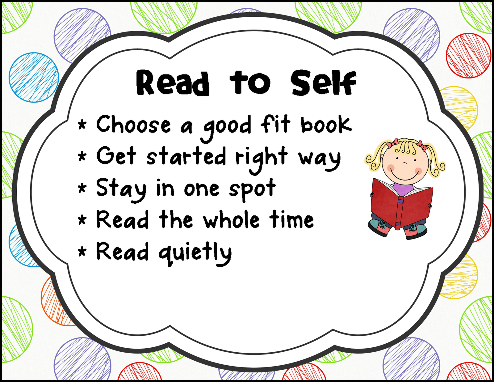 Read to Self- The research continually shows that the very best way to  become a better reader is to practice, practice, practice! We start with  the 3 ways PlusPng.com  - 3 Ways To Read A Book PNG
