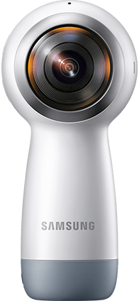 . PlusPng.com A rear view of the Gear 360 (2017) PlusPng.com  - 360 Camera HD PNG