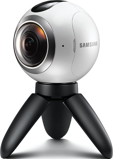 Front view of Gear 360 PlusPng.com  - 360 Camera HD PNG