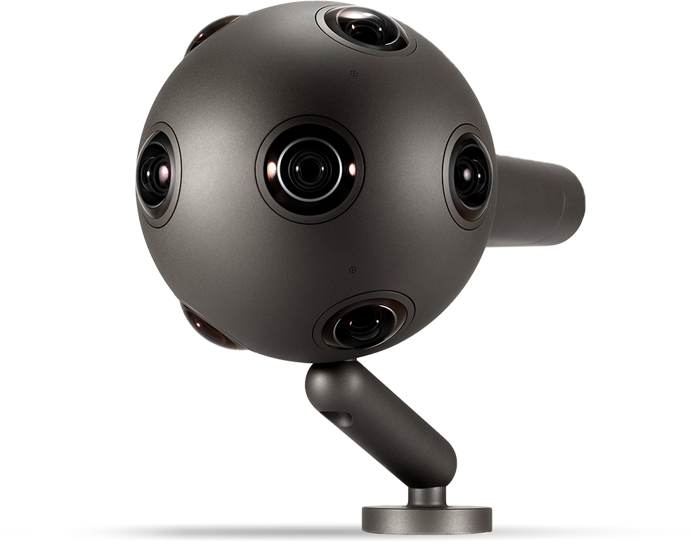 Image credit: Nokia Corporation, the OZO 360-degree VR camera - 360 Camera HD PNG