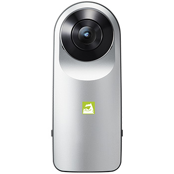 LG 360 CAM - 360 Camera HD PNG