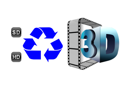 All SD/HD to 3D Movie Converter - 3d PNG HD