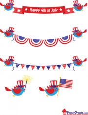 . PlusPng.com Free Vector Graphics to Celebrate the 4th of July - 4th Of July Bbq PNG