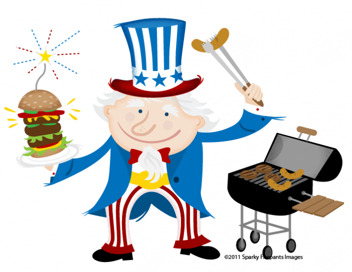 Leave a Reply - 4th Of July Bbq PNG