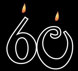 60th - 60Th Birthday PNG HD
