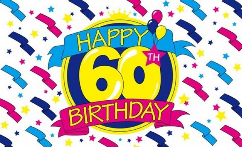 60th birthday backgrounds