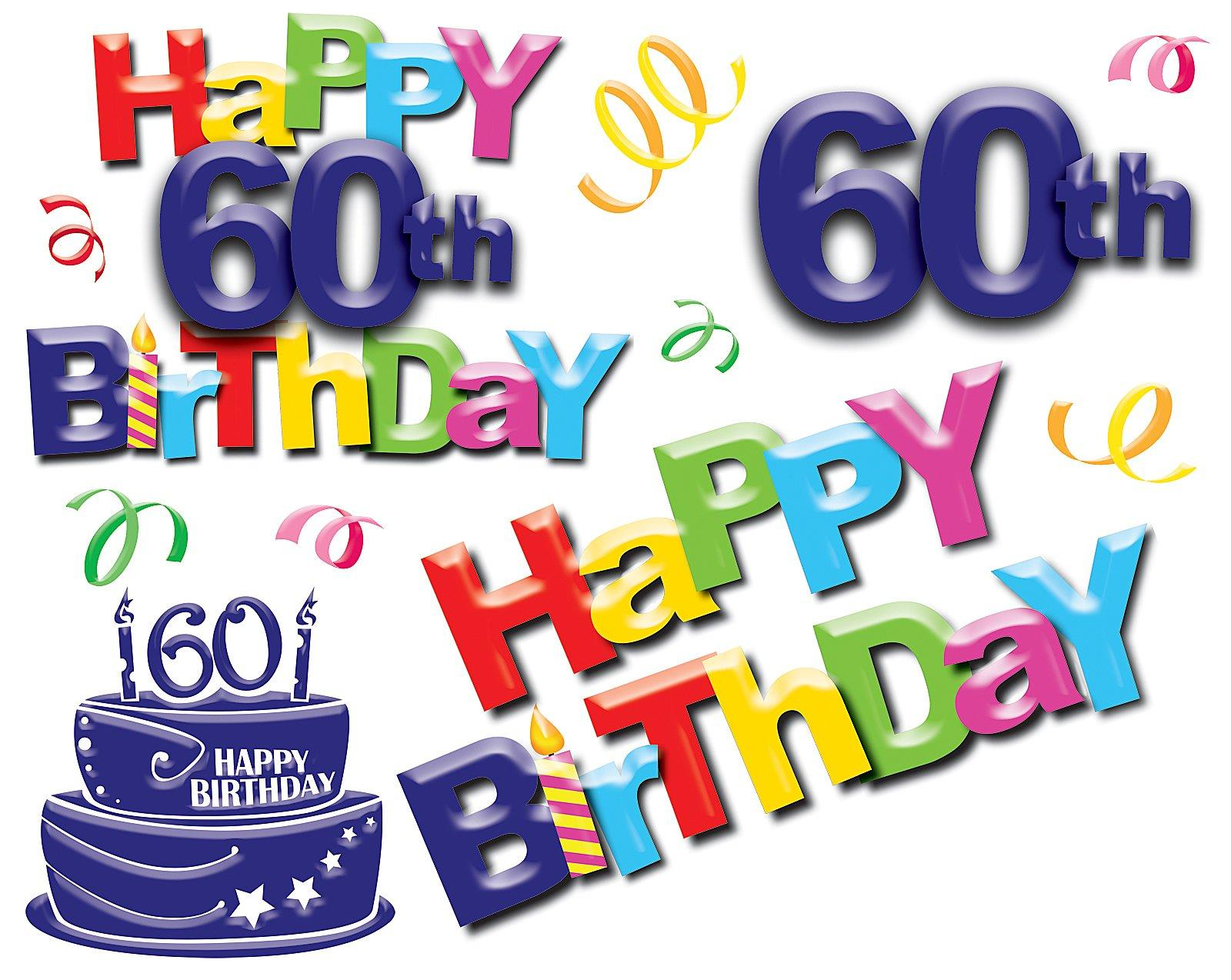 60th Birthday Quotes For Women Clipart - 60Th Birthday PNG HD