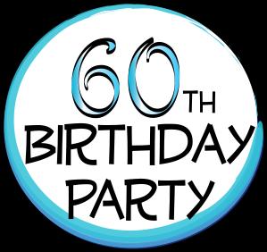 Balloon Clipart 60th #4 - 60Th Birthday PNG HD