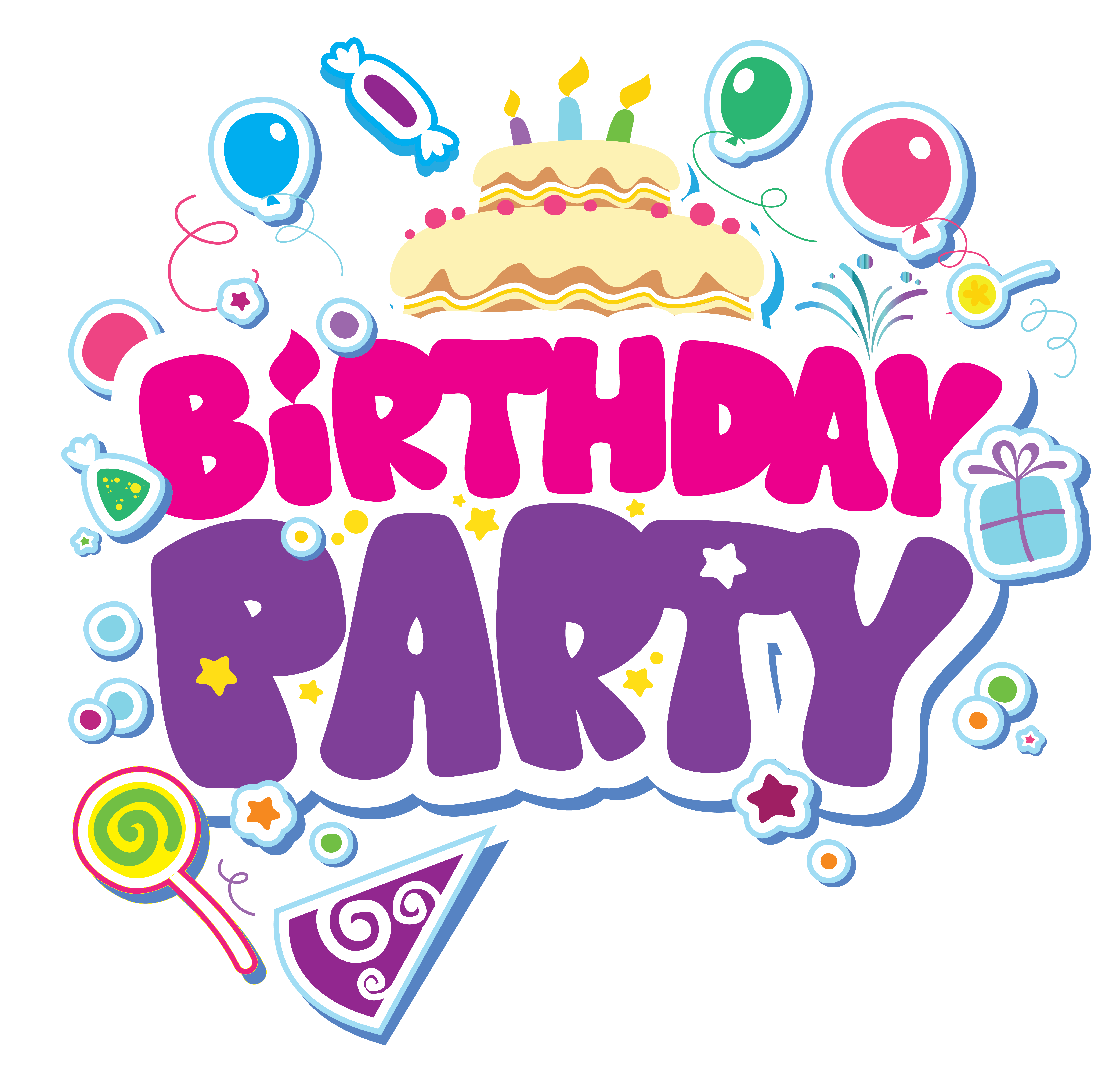 Birthday Party PNG Clipart Picture - 60Th Birthday PNG HD
