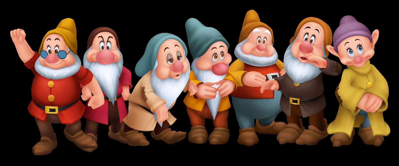 Kingdom Hearts Dwarfs.png (1600×667) | Quotes u0026 posts | Pinterest | Dwarf,  Snow white and Snow - 7 Dwarfs PNG