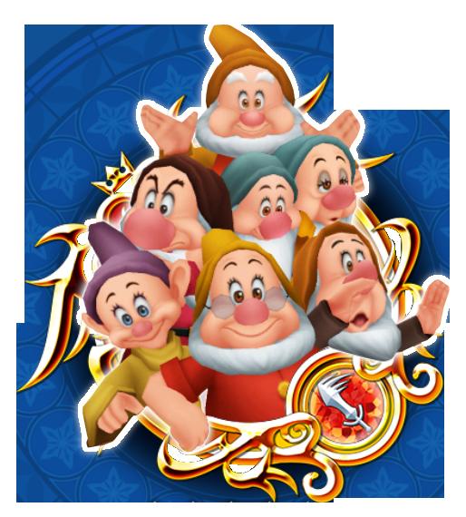 Seven Dwarfs - 7 Dwarfs PNG