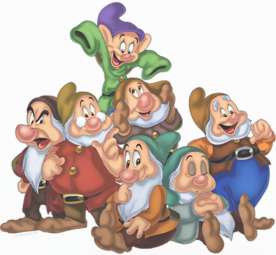 Snow White And The Seven Dwarfs PNG Pic - 7 Dwarfs PNG