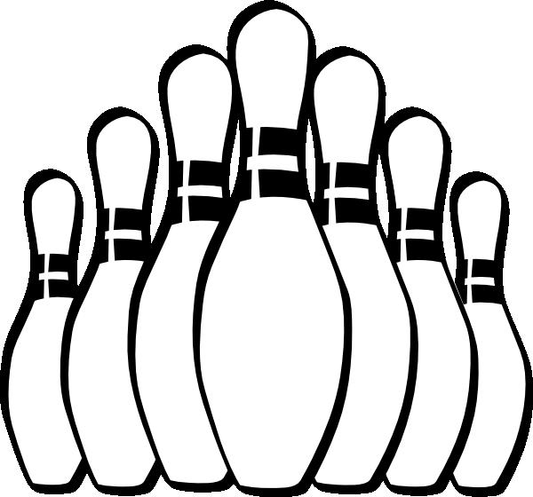 Bowling Pin Template - 9 Kegel PNG
