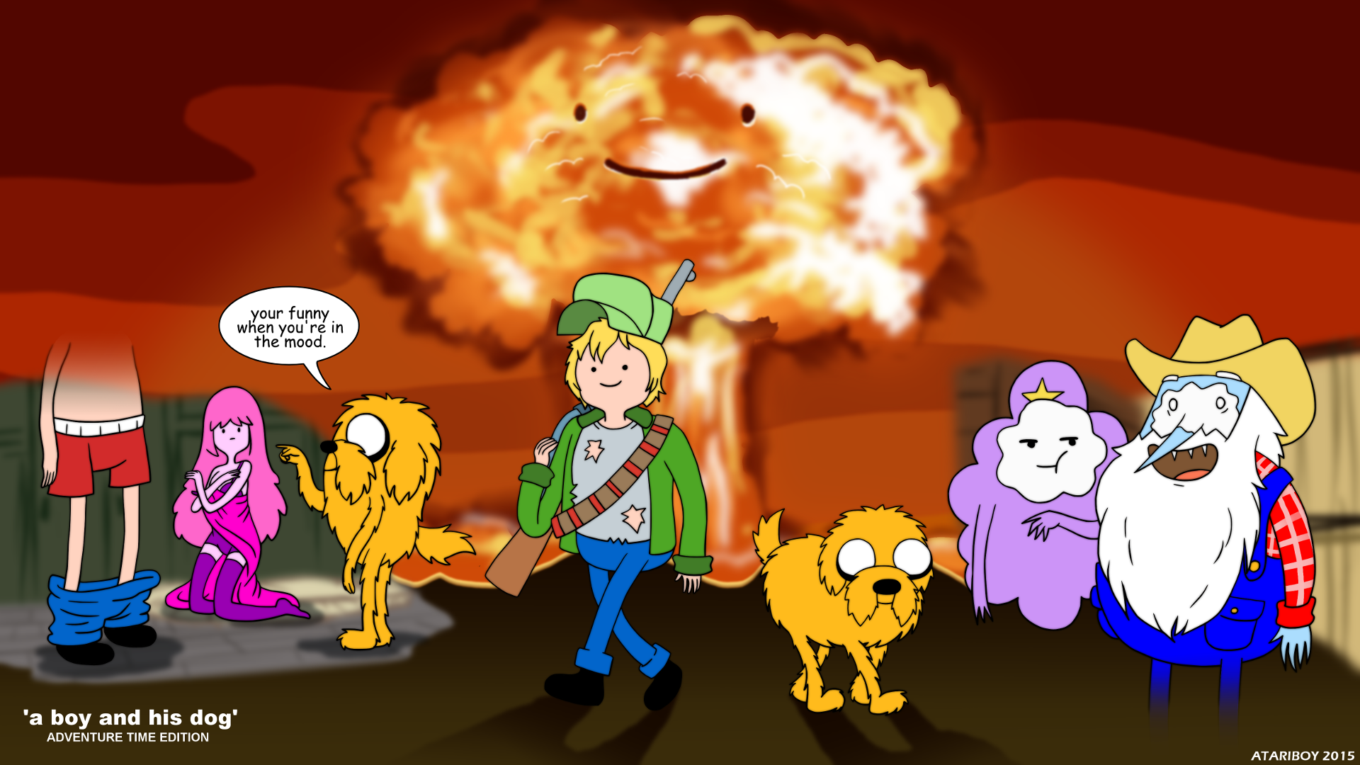 . PlusPng.com Finn And Jake - A Boy And His Dog. by Atariboy2600 - A Boy And His Dog PNG
