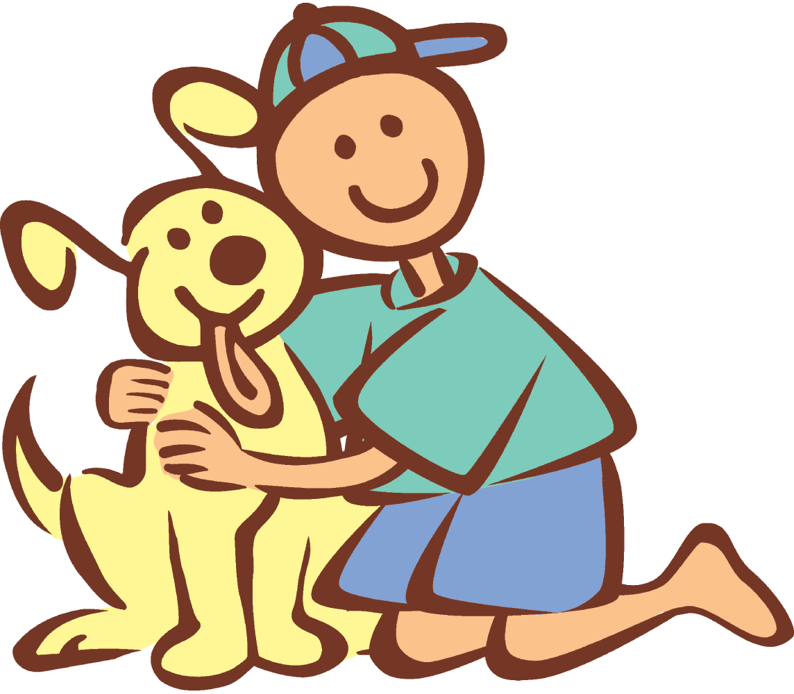 I PlusPng.com  - A Boy And His Dog PNG