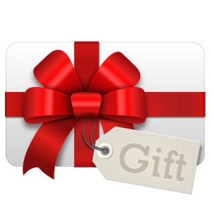 blank gift card png - A Gift PNG