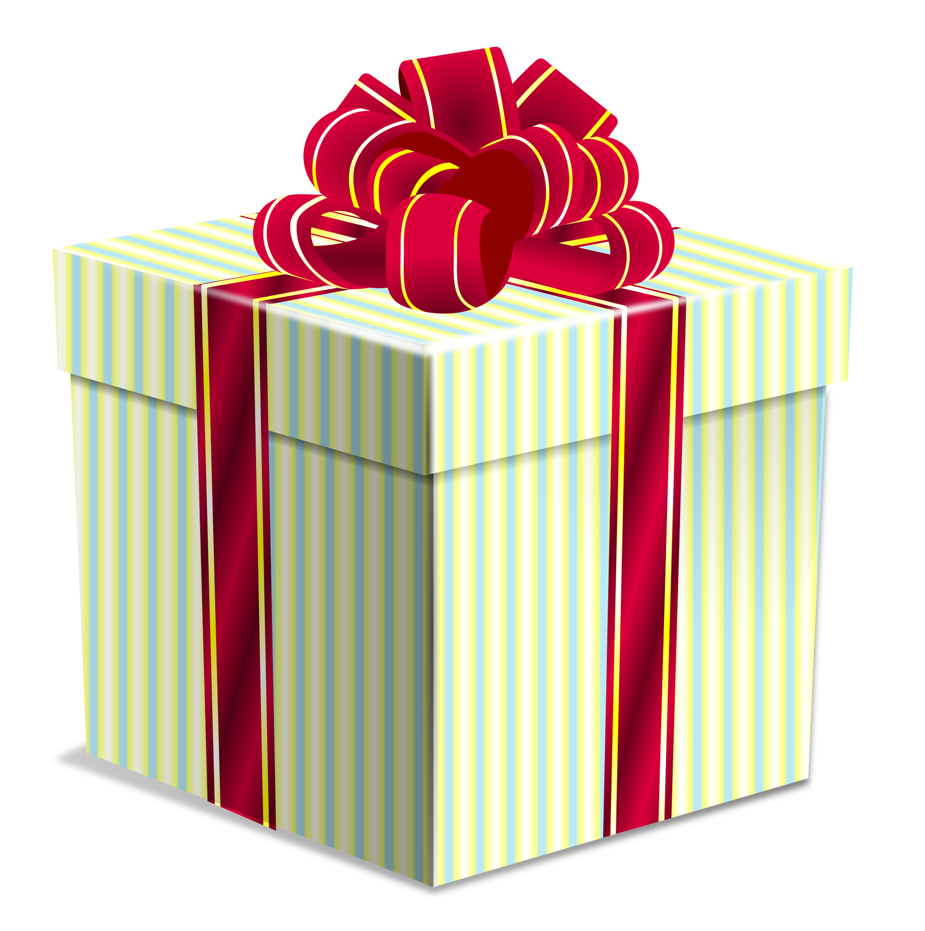 Gift Box PNG Transparent Imag
