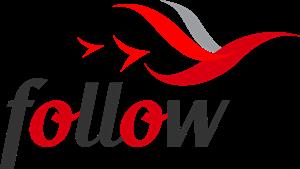 Follow Logo Vector - A Mild Live Production Vector PNG