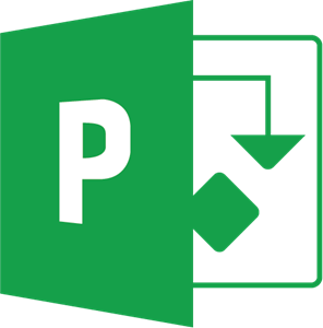 Microsoft Project (MSP) Logo.