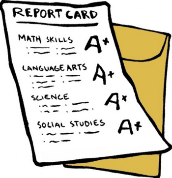 A Report Card PNG - 171013