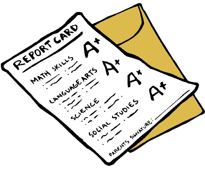 A Report Card PNG - 171018