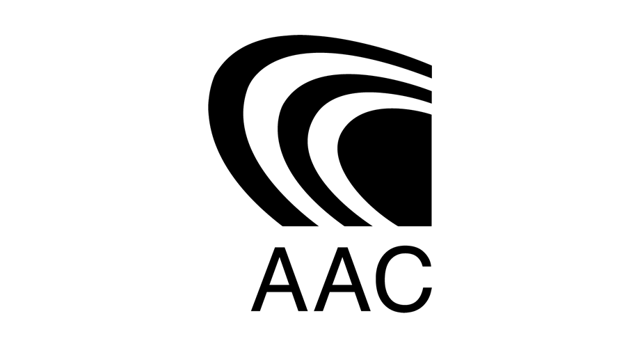 Advanced Audio Coding (AAC) Logo - Aac Logo PNG
