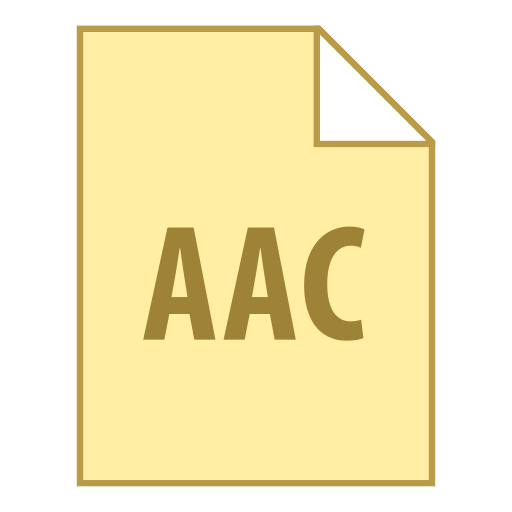 AAC icon - Aac Vector PNG