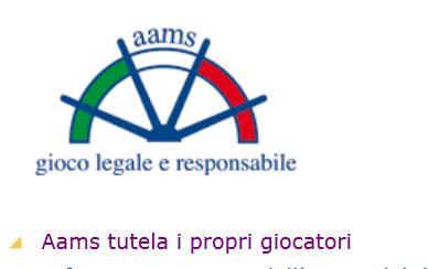 La licenza AAMS - Aams PNG