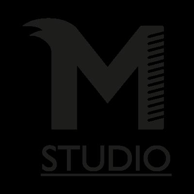 M studio vector logo . - Aardklop Logo Vector PNG