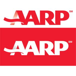 Free Vector Logo AARP