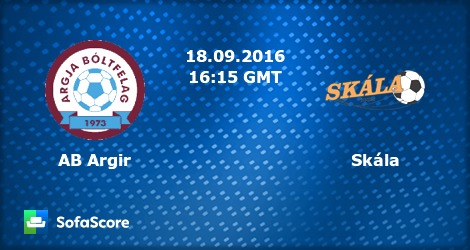 AB Argir Skála live score, video stream and H2H results - SofaScore pluspng.com - Ab Argir Logo PNG