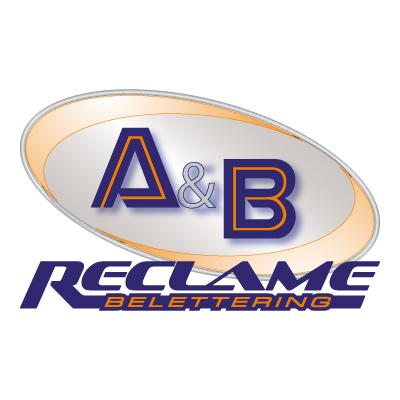 Au0026B reclame logo vector . - Ab Reclame Logo PNG
