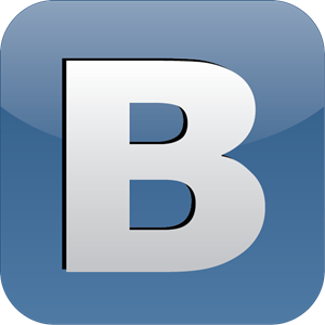 B - Vkontakte the Social Network Logo - Abay Electric Network Logo PNG