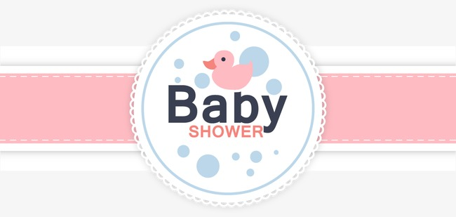 Vector baby shower card, Baby Shower Card, Card, Vector PNG and Vector - Abay Electric Network Vector PNG