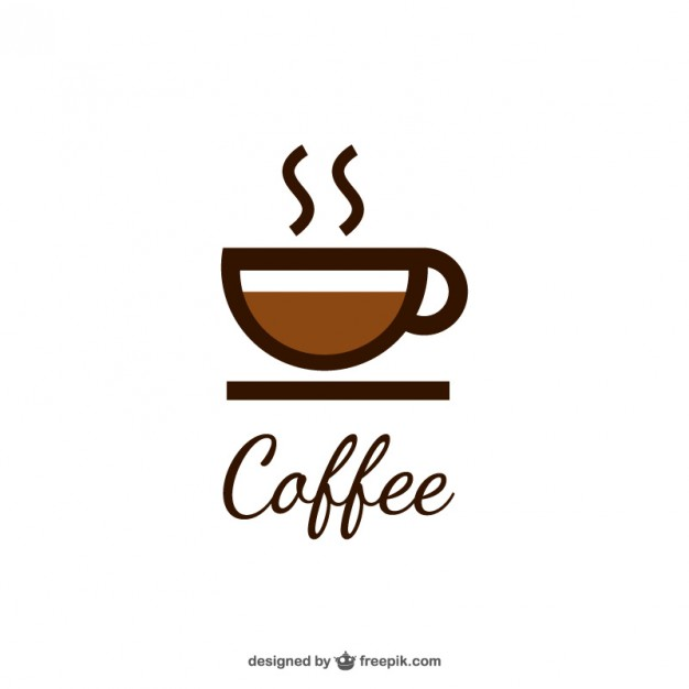 Coffee logo with cup - Abc Caffe Logo Vector PNG