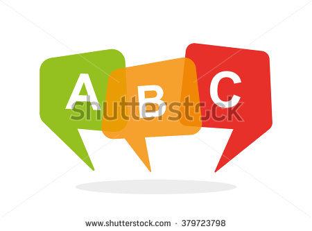 English school logo ABC - Abc Caffe Logo Vector PNG