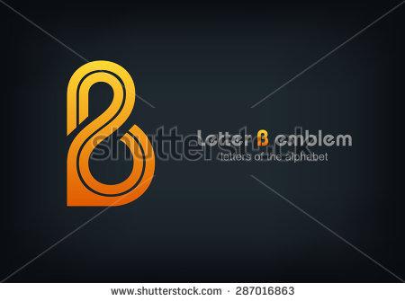 Letter B Logo vector alphabet design element template, ABC concept type as  logotype, Vector - Abc Caffe Logo Vector PNG